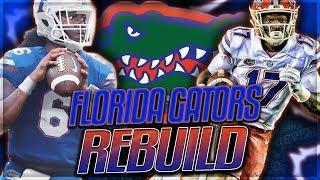FLORIDA GATORS REBUILD -- Emory Jones Becomes a Legend   NCAA Football 14 Rebuild