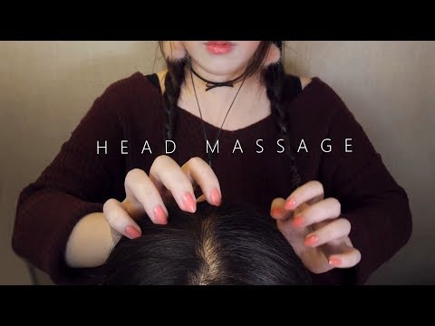 ASMR Realistic! 10 Scalp Massage & Hair Brushing 😚 (No Talking) 두피마사지 thumbnail