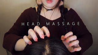 ASMR Realistic! 10 Scalp Massage & Hair Brushing 😚 (No Talking)