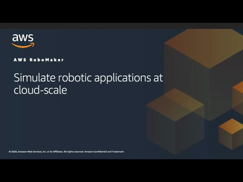 Using AWS RoboMaker for Robot Application Simulation