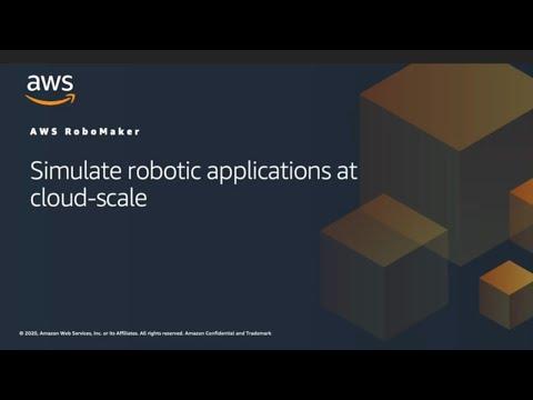 Using AWS RoboMaker for Robot Application Simulation
