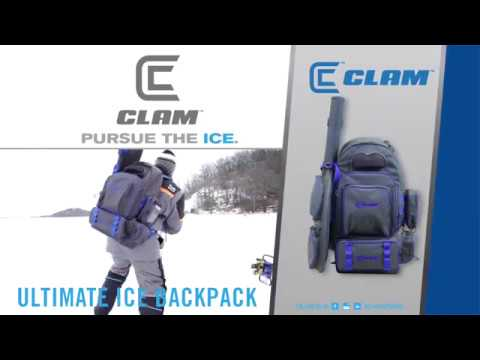 Ice Fishing Mobility Gets Better - the Ultimate Ice Backpack by Clam  Outdoors