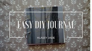 Easy DIY Journal | Klassy Jade
