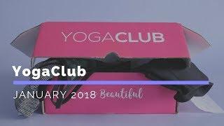 YogaClub Subscription Box Unboxing January 2018