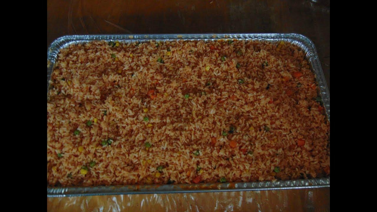 Cantidad de arroz para 30 personas
