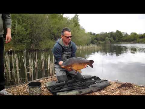 Woodsetts Quarry Pond 4th Stocking In May 2013 Youtube