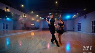 Troels Bager and Ina Jeliazkova - Samba | 375 Dance Studio