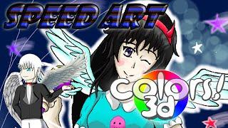 SpeedArt Colors 3D - Darmylow Butterfly