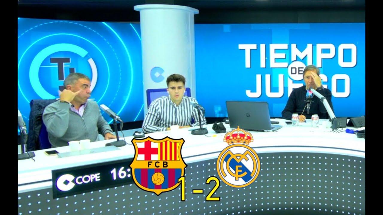 Alaba REVIENTA El Clásico | Así vivimos el Barcelona 1-2 Real Madrid en Tiempo de Juego COPE