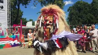 Bali Rangda dance Indonesian festival in Moscow 2017