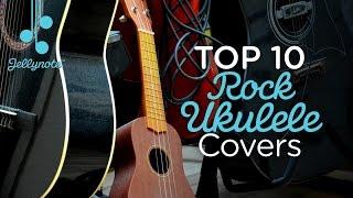 Top 10 Rock Ukulele Covers - classic rock music for ukulele