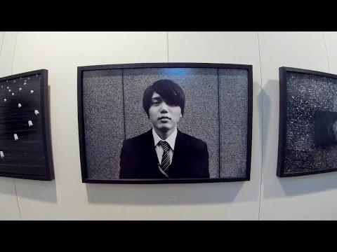 expo Klavdij Sluban, lauréat 2015 Des Beaux Arts, Institut de France - Paris octobre 2016