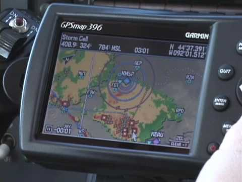 Flying the Garmin 396/496 from Sporty's on