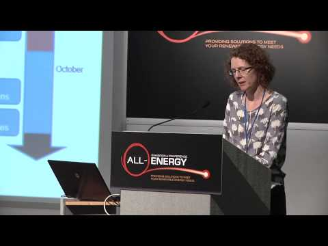 Carolyn Campbell, Department of Business, Innovation & Skills at All-Energy 2014