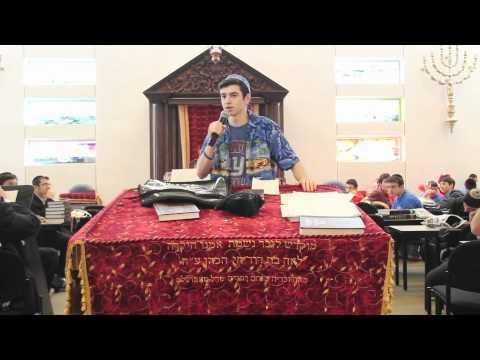 The @DRScwBLUE Team's First D'Var Torah by Junior Jake Schreier DRSCW