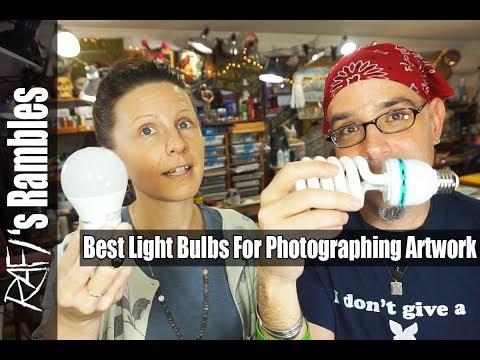 Best Light Bulbs For Photographing Artwork Tips For Artists