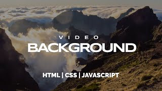 YouTube видео в качестве фона на сайте