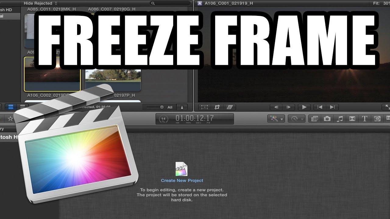 Final Cut Pro X - 48: Efecto freeze frame - YouTube