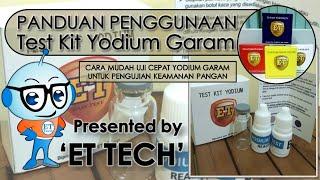 Test Kit Yodium Garam - Salt Iodine Testkit - Teskit utk Tes Iodium