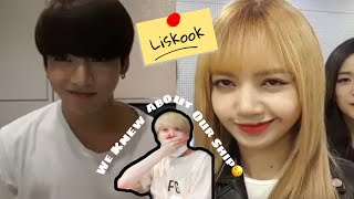 Download Mp3 Liskook Lisa and Jungkook knows about their ship REAL
