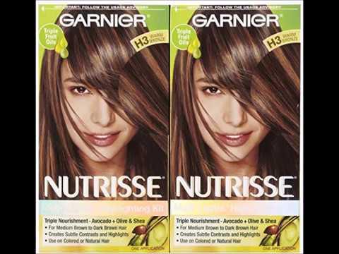 Garnier Nutrisse Nourishing Multi Lights Highlighting Kit Warm Bronze H3 Cookies Cream 2 Pk