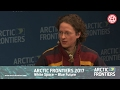 Arctic Frontiers 2017 Cross Border Cooperation in Times of Political Change
