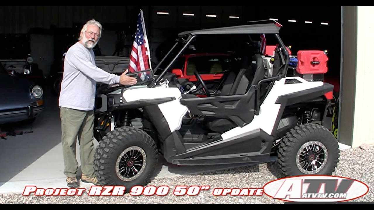 small resolution of atv television project 2015 polaris 50 rzr 900 midway through