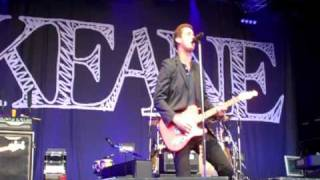 Keane @ Cannock Chase Forest - House lights & Back in Time