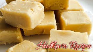 Halkova recipe in Tamil   90s kids favourite sweet recipe   Dream sweet of Indian children