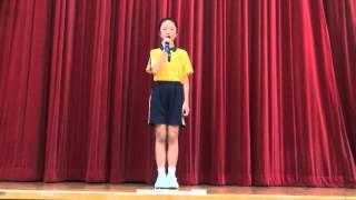 第八屆小特首選舉 - 聖安當小學 - 六仁周琬淇