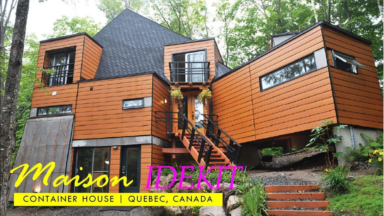 Maison Idekit Cargo Container Home St. Adele Quebec, Canada