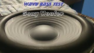 Sony Shake Woofer - Wavy Bass test 🔊