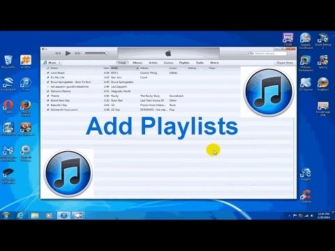 How to Create Playlists in iTunes 2014 - iTunes Playlist - Free & Easy