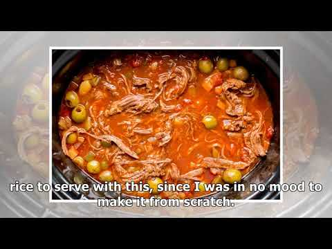 Slow Cooker Ropa Vieja (Cuban Beef)