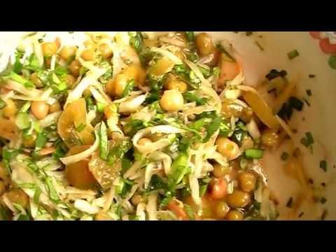 Салат для похудения из вареной свеклы и моркови