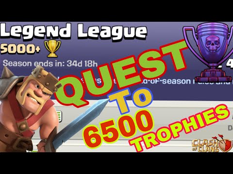 New Season New Challenge - QUEST TO 6500 TROPHIES || Clash of Clans || Ep. 1 ||