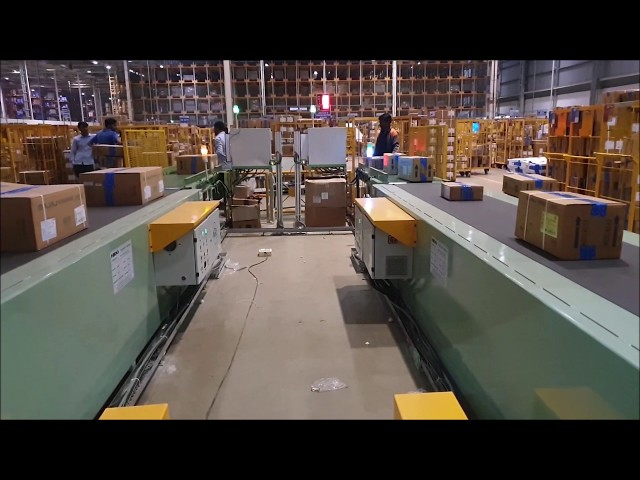 Online bar-code Scanning & Verification System | Truck Loading Unloading - Conveyor Automation