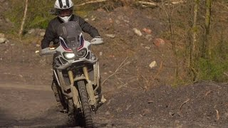Honda Off-Road Centre With The Africa Twin