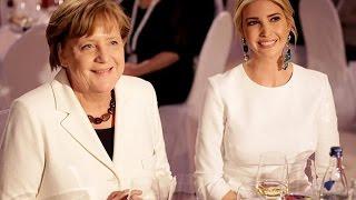 Ivanka Trump wears a glamorous white dress in gala dinner in Berlin | First Daughter