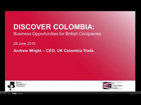 Discover Colombia: Business opportunities for British companies