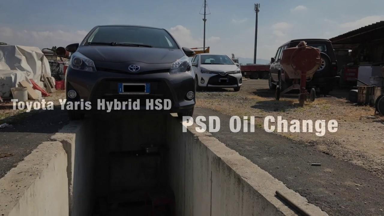 Toyota Yaris Hybrid Hsd Psd E Cvt Oil Change