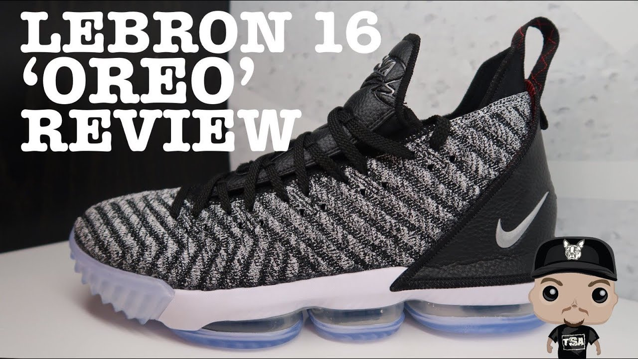 check out f020d 3fd3b Nike Lebron 16 Oreo Sneaker Detailed HONEST Review #LEBRONJAMES #NBA