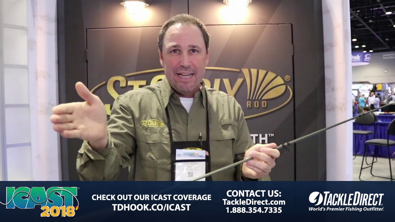 St Croix Mojo Trout Fly Rods at ICAST 2018