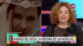 Andrea Del Boca La Heroína De Las Novelas