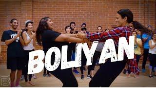 BOLIYAN   GIDDHA STEP (BHANGRA FUNK) Dance   Shivani Bhagwan and Chaya Kumar Choreography