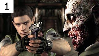 Resident Evil Remastered #1 1080p 60fps الزومبي الأقرع