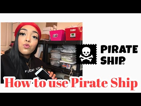 How to use Pirate Ship/Easy Shipping method!Life of a Entrepreneur