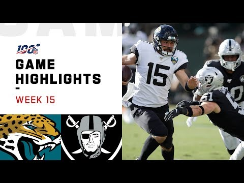 Jaguars vs. Raiders Week 15 Highlights | NFL 2019