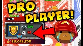 PRO player DESTROYS me!