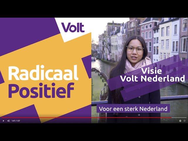 YouTube: Visie Volt Nederland